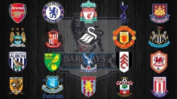 Giải Ngoại Hạng Anh bao gồm 20 đội bóng tham gia tranh tài